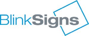 blink signs logo